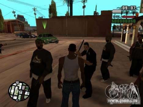 Call of Homies pour GTA San Andreas quatrième écran