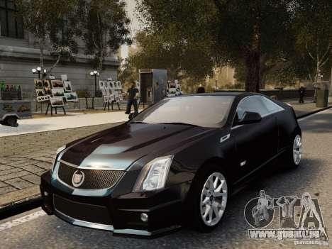 Cadillac CTS-V Coupe 2011 für GTA 4