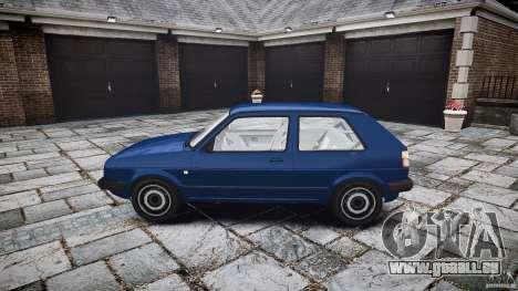 Volkswagen GOLF MK2 GTI pour GTA 4 est une vue de l'intérieur
