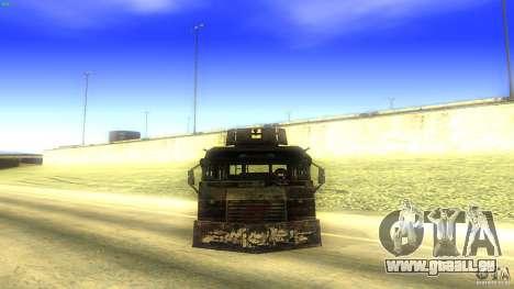 Frontline - MilBus für GTA San Andreas rechten Ansicht