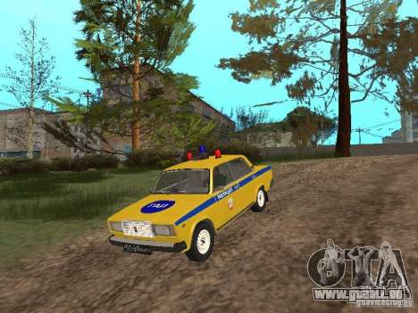 VAZ 2107 AUTO INSPEKTION für GTA San Andreas
