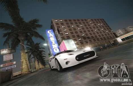 Spyker C8 Aileron pour GTA San Andreas vue de côté