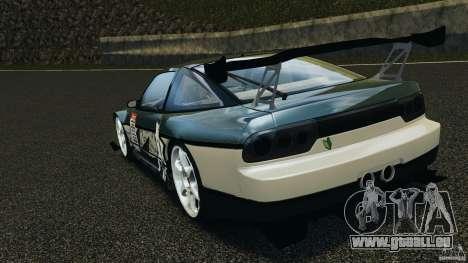 Nissan 240SX Time Attack pour GTA 4 Vue arrière de la gauche