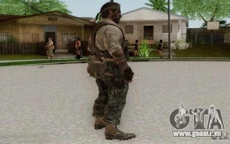 Frank Woods pour GTA San Andreas troisième écran
