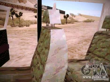 GAZ 310231 Urgent pour GTA San Andreas vue de dessus