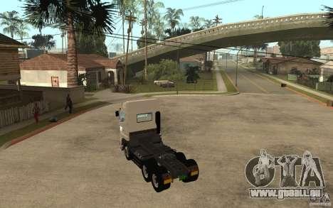 Hino 700 Series für GTA San Andreas zurück linke Ansicht