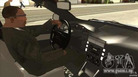 Volvo V40 - Stock pour GTA San Andreas vue intérieure