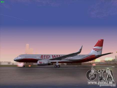 Tupolev Tu-204 Red Wings Airlines für GTA San Andreas linke Ansicht