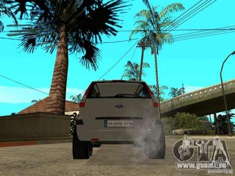 Ford Fusion 2009 pour GTA San Andreas sur la vue arrière gauche