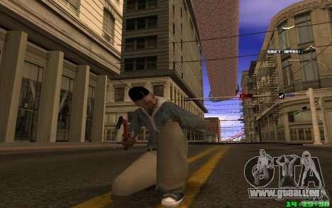 Brise-glace (rouge) pour GTA San Andreas deuxième écran