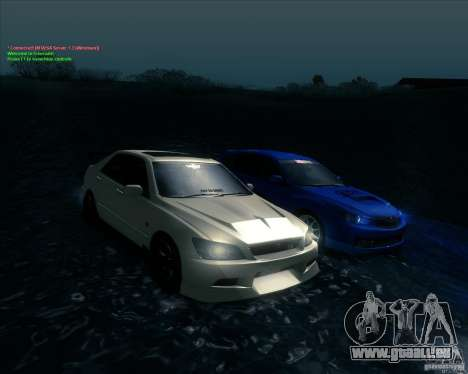 Toyota Altezza für GTA San Andreas