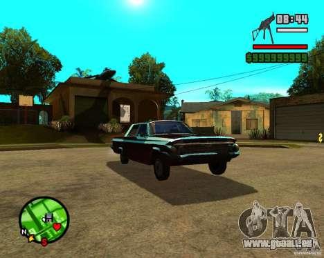 Mercury Mascarpone pour GTA San Andreas