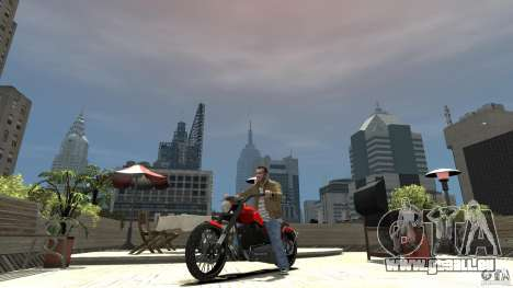 The Lost and Damned Bikes Nightblade pour GTA 4 est une gauche