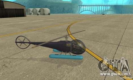 Dragonfly pour GTA San Andreas laissé vue