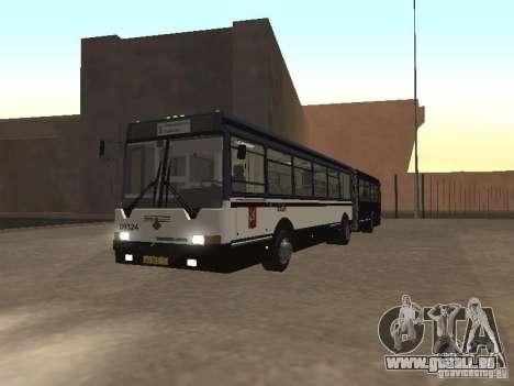 Autobus 6222 pour GTA San Andreas laissé vue