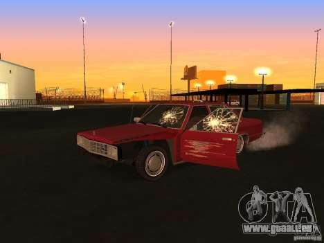 Ford Fairmont 4dr 1978 pour GTA San Andreas vue arrière