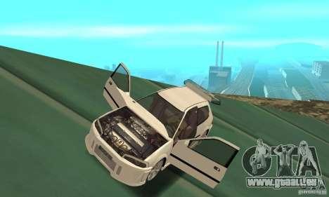 Honda Civic SiR II Tuning für GTA San Andreas Rückansicht