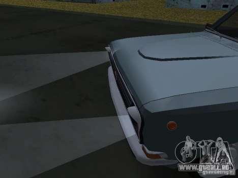 GAZ M24-02 pour GTA San Andreas sur la vue arrière gauche