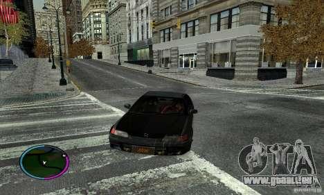 Honda CRX Tuned für GTA San Andreas linke Ansicht