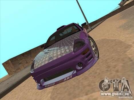 Mitsubishi Eclipse Spyder 2FAST2FURIOUS pour GTA San Andreas vue de droite