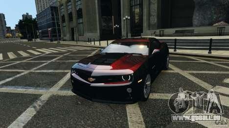 Chevrolet Camaro ZL1 2012 für GTA 4 Rückansicht