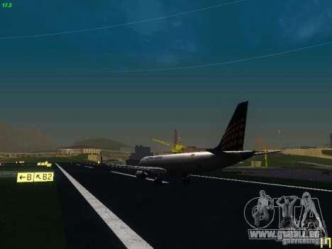Embraer ERJ 190 Lufthansa Regional für GTA San Andreas rechten Ansicht