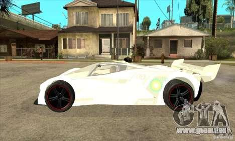 Mazda Furai pour GTA San Andreas laissé vue