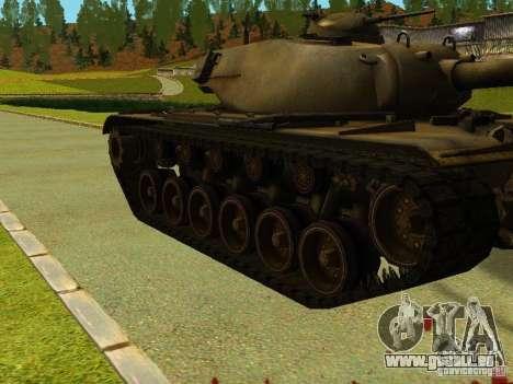 T-110E5 pour GTA San Andreas laissé vue