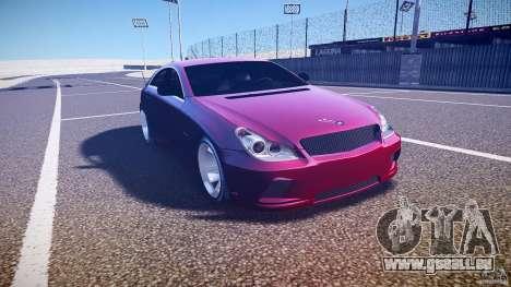 Mercedes Benz CLS Light Tuning v1.0 Beta pour GTA 4 Vue arrière