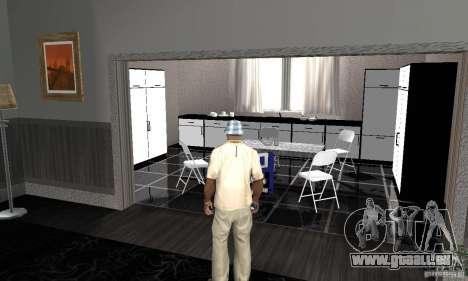 Nouvelles textures intérieur de maisons sûres pour GTA San Andreas deuxième écran