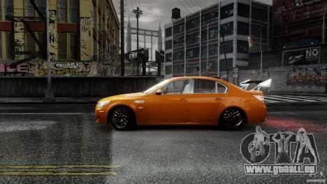 BMW M5 e60 Emre AKIN Edition pour GTA 4 est une gauche