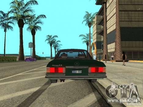 Mercedes - Benz 280SE für GTA San Andreas rechten Ansicht