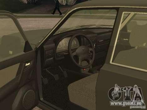GAZ 3110 v 2 pour GTA San Andreas vue de droite