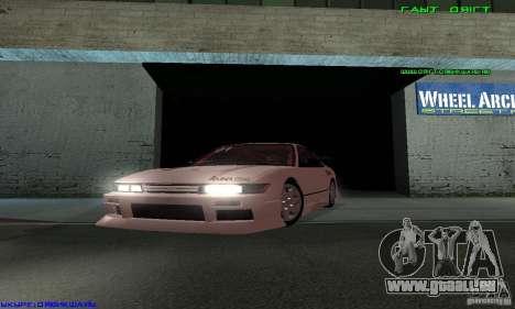 Nissan Silvia S13 Tunable für GTA San Andreas Innen