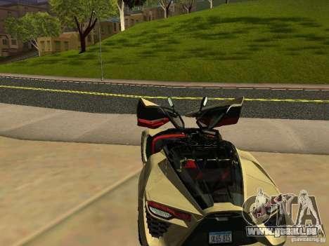 Bertone Mantide für GTA San Andreas Innen