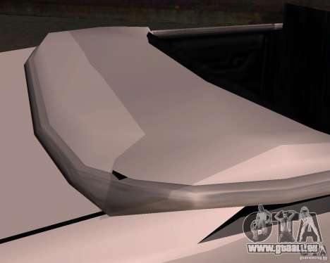 Taxi Cabrio pour GTA San Andreas vue de côté