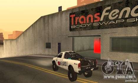 Dodge Power Wagon Paintjobs Pack 2 für GTA San Andreas zurück linke Ansicht