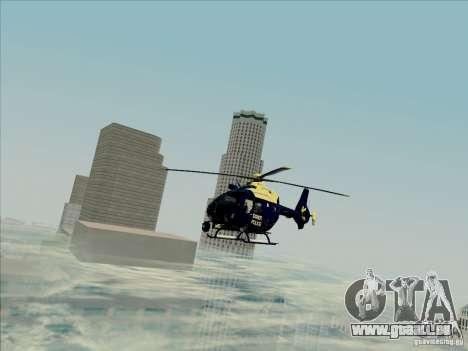 Eurocopter EC-135 Essex für GTA San Andreas rechten Ansicht