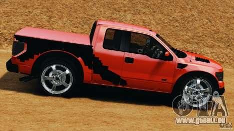 Ford F-150 SVT Raptor pour GTA 4 est une gauche