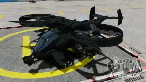 Ein Kampfhubschrauber AT-99 Scorpion für GTA 4