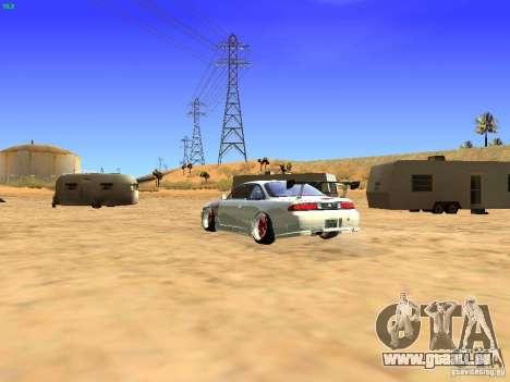 Nissan Silvia S14 JDM pour GTA San Andreas laissé vue