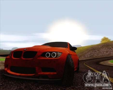 BMW M3 GT-S für GTA San Andreas Seitenansicht