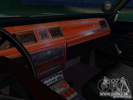 Ford Crown Victoria LTD 1992 SFPD pour GTA San Andreas vue de côté