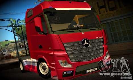 Mercedes-Benz Actros 2012 pour GTA San Andreas