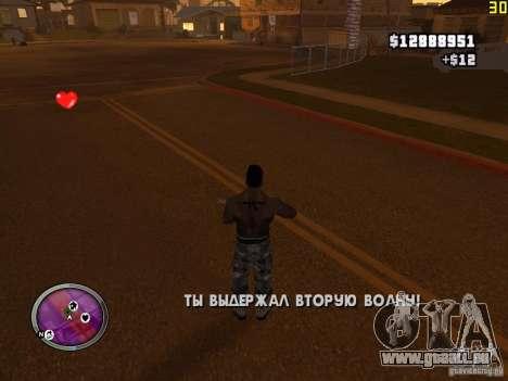 Nouvelle zone GANGSTER pour GTA San Andreas neuvième écran