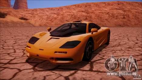 McLaren F1 v1.0.1 1994 pour GTA San Andreas