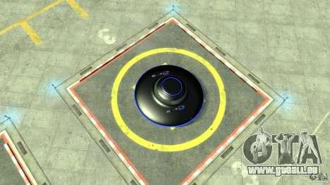 UFO neon ufo blue pour GTA 4 est un droit