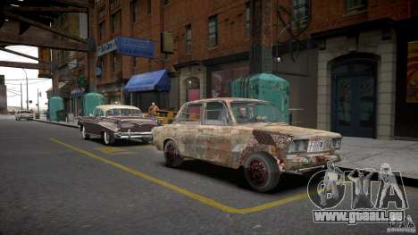 VAZ 2106 Rusty pour GTA 4 est un droit