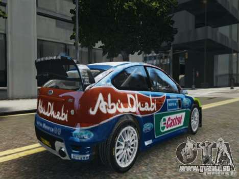 Ford Focus RS WRC für GTA 4 linke Ansicht