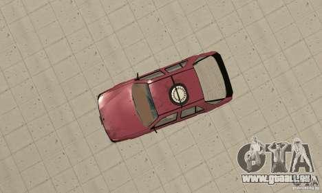 Saab 9000 pour GTA San Andreas vue de droite